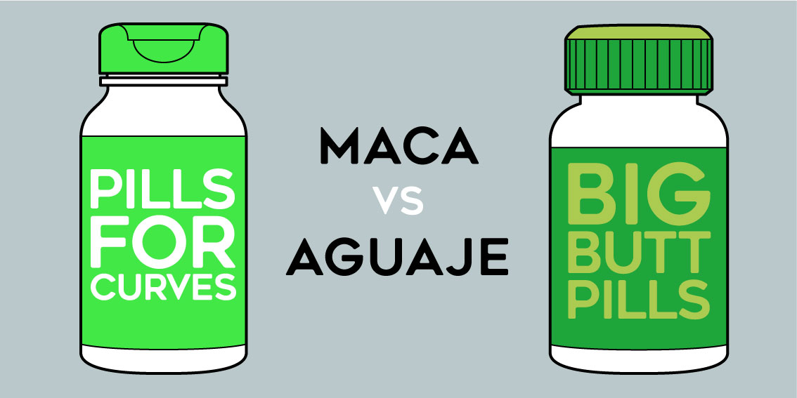 maca root vs aguaje pills